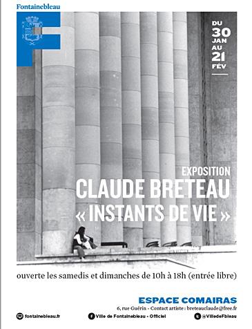 Claude Breteau - Instants de vie - Fontainebleau - Expo 2021